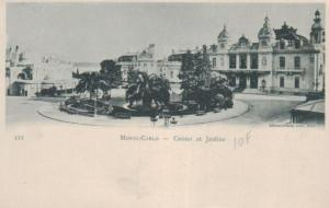 Monaco     .. .. ..alte Karte   (ke451  ) siehe scan