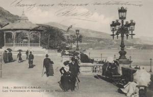 Monaco     .. .. ..alte Karte   (ke445  ) siehe scan