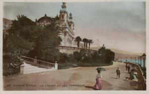 Monaco     .. .. ..alte Karte   (ke425  ) siehe scan