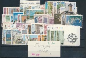 Thema-EUROPA  1978   Lot  **   (zu916  ) siehe scan