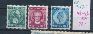 Würtemberg  Nr. 44-6  **   (ed3775  ) siehe scan