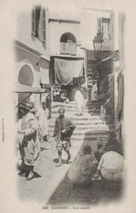 Algerien    - alte Karte  ( ka8747 ) siehe scan