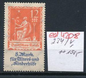 D.-Reich Nr. 234  V    **   (ed4208  ) siehe scan