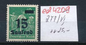 D.-Reich Nr. 279 VI    **   (ed4209  ) siehe scan