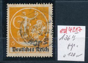 D.-Reich Nr. 136 II o   (ed4217  ) siehe scan
