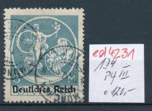 D.-Reich Nr. 134 III  o    (ed4231  ) siehe scan