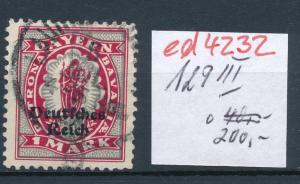 D.-Reich Nr. 129  III  o    (ed4232  ) siehe scan
