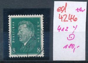 D.-Reich Nr. 412 y  o    (ed4246 ) siehe scan