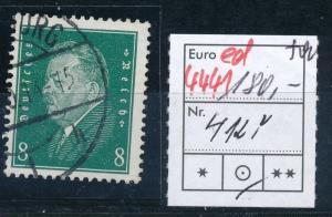 D.-Reich Nr. 412 Y  o  (ed 4441  ) siehe scan