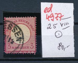 D.-Reich Nr.  25 VIII      (ed4977  ) siehe scan