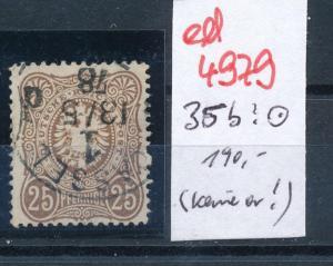D.-Reich Nr.  35 b oder c ? kleine Marke  (ed4979  ) siehe scan