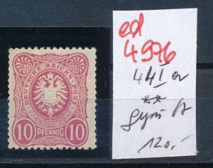 D.-Reich Nr.  44 I a  ** geprüft      (ed4976  ) siehe scan