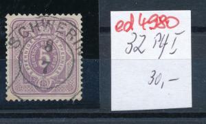 D.-Reich Nr.   32 I  o  (ed4980  ) siehe scan