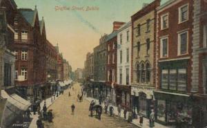 Dublin  - alte Karte.....   (ka9235  ) siehe scan