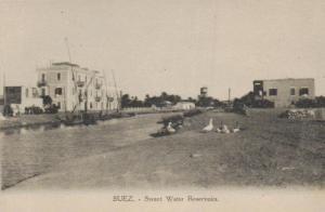 Suez  - alte Karte.....   (ka9225  ) siehe scan
