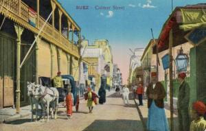 Suez  - alte Karte.....   (ka9231  ) siehe scan