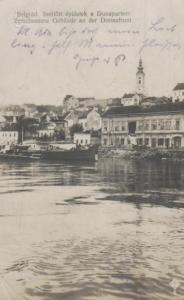 Belgrad   ...nette alte Karte (ka9625 ) siehe scan !