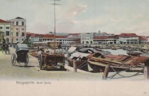 Singapur     ...nette alte Karte (ka9659 ) siehe scan !