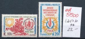 Sao Tome  Nr. 425+30    **     (ed5500 ) siehe scan