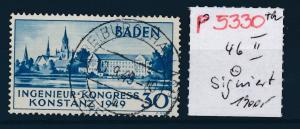 Baden Nr.  46 II o signiert    (p5330  ) siehe scan