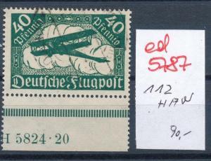 D.-Reich Nr. 112  HAN     (ed5787 ) siehe scan