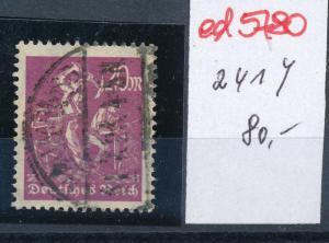 D.-Reich Nr. 241 Y o    (ed5780  ) siehe scan