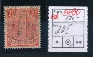 D.-Reich Nr. D 22 I o     (ed5790 ) siehe scan
