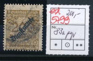 D.-Reich Nr. D  83a     signiert  (ed5799  ) siehe scan