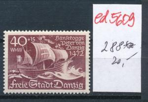 Danzig Nr.   288    **    (ed5609   ) siehe scan