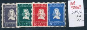 Niederlande Nr. 583-6    **  (ed5553   ) siehe scan