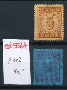 Niederlande Nr. Porto 1+2   o  (ed5564   ) siehe scan
