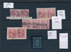 AD- Preussen - Lot  o   (oo8347  ) zur Sicherheit-unterschiedlich-siehe scan