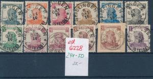 Würtemberg Nr. 241-50    ( ed 6228  ) -siehe scan