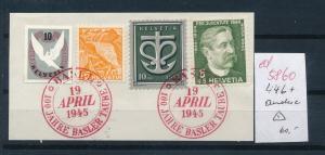 Schweiz Briefstück  446+....    (ed5860  ) siehe scan