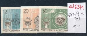 Vietnam - Nr. 217-9  U   (*)  (ed6341  ) siehe scan
