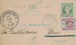Grenada -uralte Ganzsache .....   (ka5859  ) siehe scan