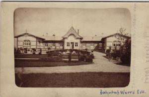Bahnhof  Werro . .- alte Karte  (ke5269    ) siehe scan