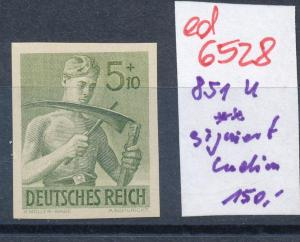 D.-Reich  Nr. 851 U  **....    (ed6528  ) siehe scan