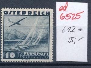 Österreich Nr.612  *..    (ed6525  ) siehe scan