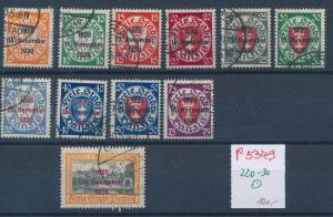 Danzig Nr. 220-30 top Serie     (p5349  ) siehe scan