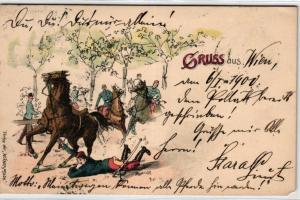 Gruss aus Wien....alte Karte    (ke_05343  ) siehe scan