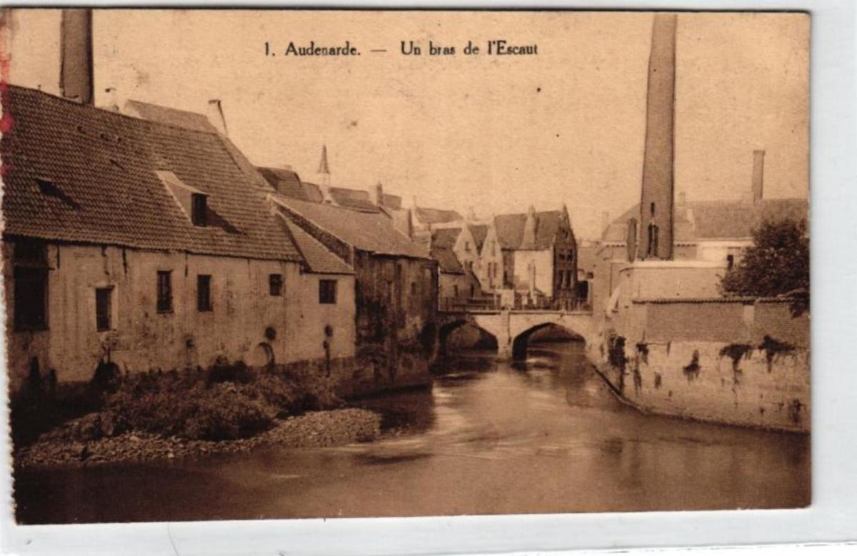Audenarde  ....- alte Karte   (ke5629  ) siehe scan 0