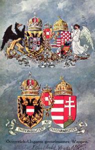 Österreich Wappen .....- alte Karte   (ke5731  ) siehe scan