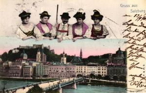 Salzburg...- alte Karte   (ke5743  ) siehe scan