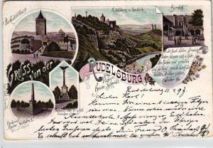 Rudelsburg...alte Karte.....  (ke6377    ) siehe scan