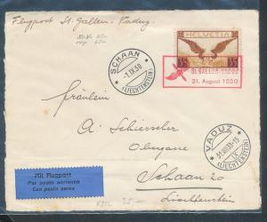 Schweiz Luftpost -Briefvorderseite !........  (oo8911   ) siehe scan