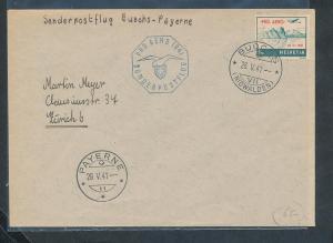 Schweiz  Luftpost  Beleg....  (zu1343   ) siehe scan