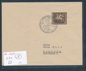 D.Reich  Braunes Band Beleg  (zu1339   ) siehe scan