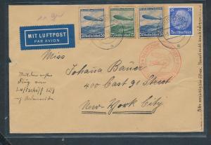 D.Reich  Luftpost Beleg  (zu1340   ) siehe scan