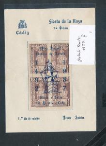Spanien Gedenkblatt  (oo8931   ) siehe scan